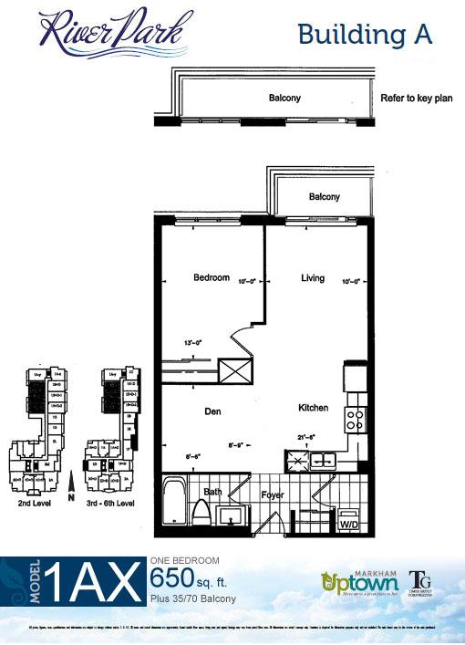 uptown markham floorplans